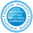 Extended Lifetime Structural Warranty